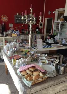 Frühstücksbüffet in Kanelbullen 2 - Kopie