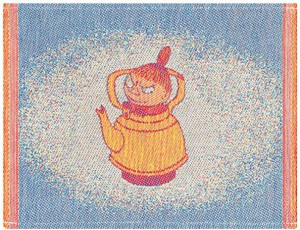 Spültuch Moomins Lilla My coffee pot colour