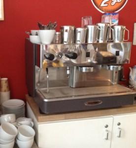 Unsere Espressomaschine