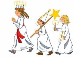 Sankta Lucia im KB