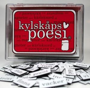 Kylskåpspoesi Schwedisch Liebe Kärlek