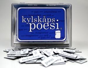 Kylskåpspoesi Schwedisch Orginal